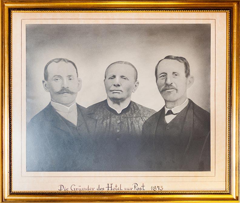 Gemälder der Gründer